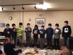 平成29年度卒団式&納会